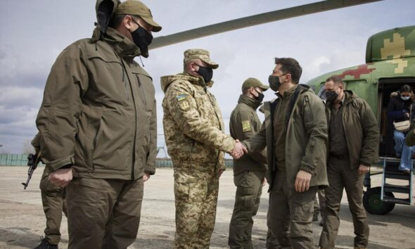 Ukraine Says One Soldier has been Killed in East as Tensions Rise