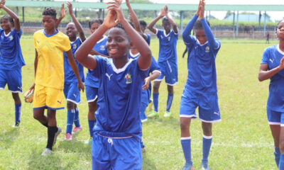 Edo Female Football team pip Lagos team to win Gold