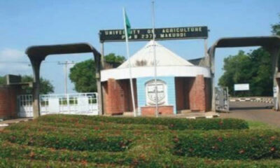 Students from the Federal University of Agriculture in Makurdi Abducted on Campus