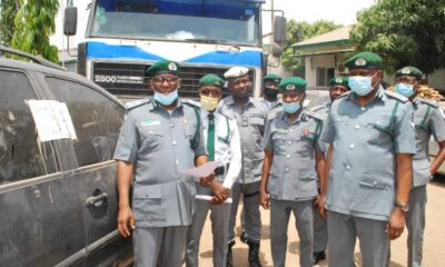 "FOU Zone ""B"" Seizes Smuggled Items Worth N51 Million"