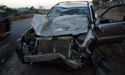 5 Burnt Beyond Recognition in a Car Accident along Yola-Gombe Express road