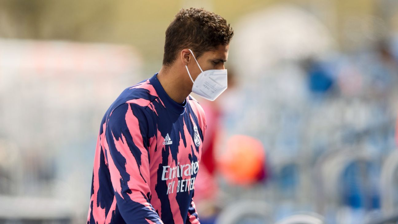 European Football: Raphael Varane Tests Positive For Covid-19 Ahead Of UCL Clash With Liverpool