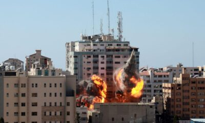 Al Jazeera and The Associated Press Offices Decimated in Gaza Attack