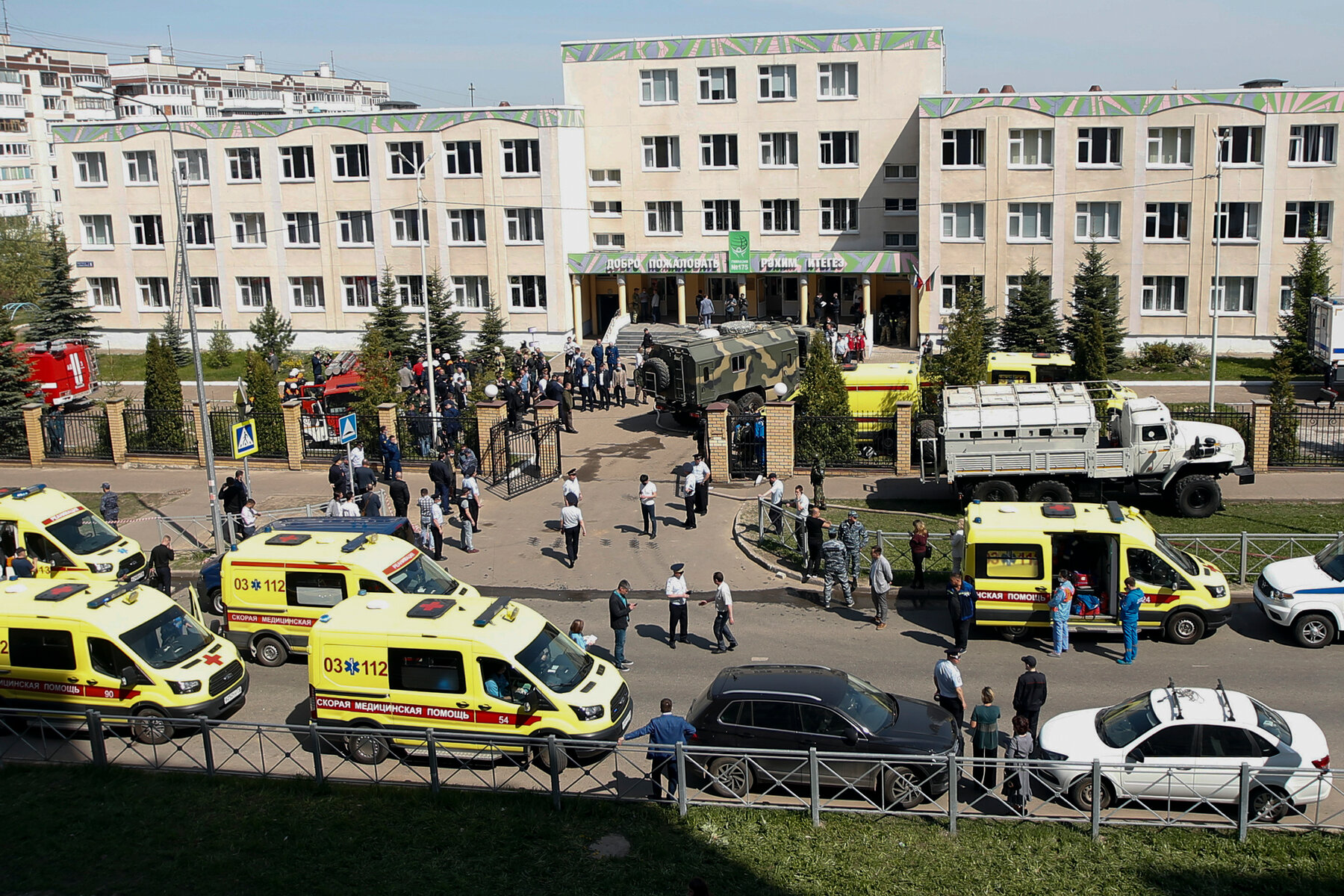 More than 10 Dead After Shooting at Russian School