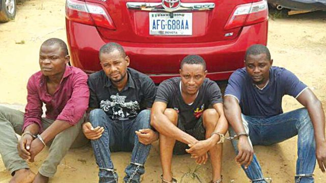 Police Arrest Notorious Robbers in Abuja