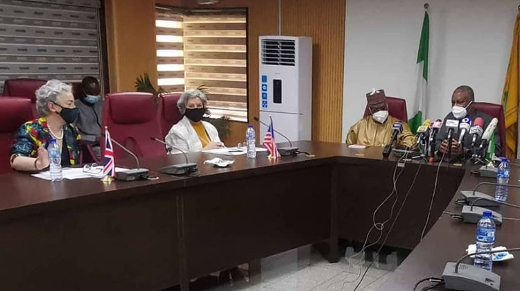 US, UK, EU Envoys Meet with Minister of Foreign Affairs Over Joint Statement