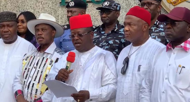 South East Governors Meet Over Attacks in Region, Vow to Tackle Insecurity