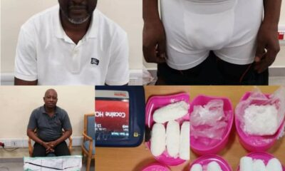 NDLEA Nabs Uber Driver, 2 Traffickers with Cocaine in Lagos