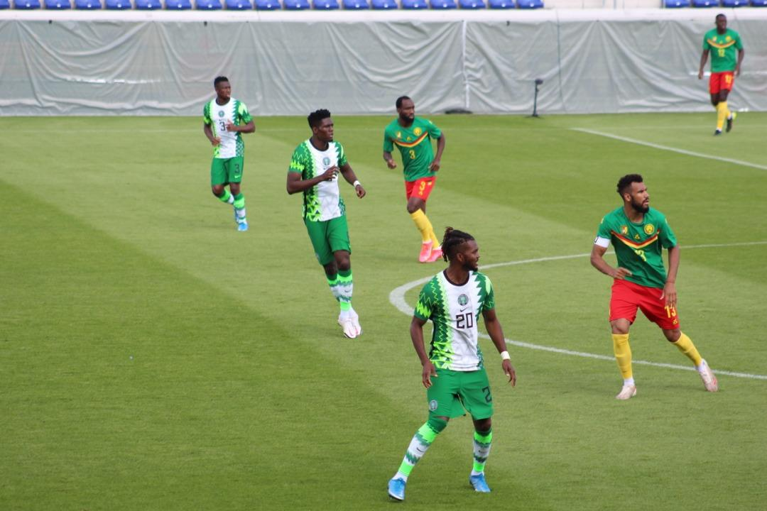 Super Eagles Play Goalless Draw With Cameroon in Austria