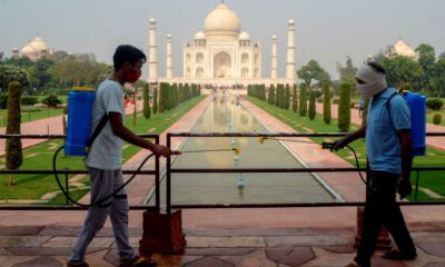 Taj Mahal Reopens as India Eases COVID-19 Restrictions