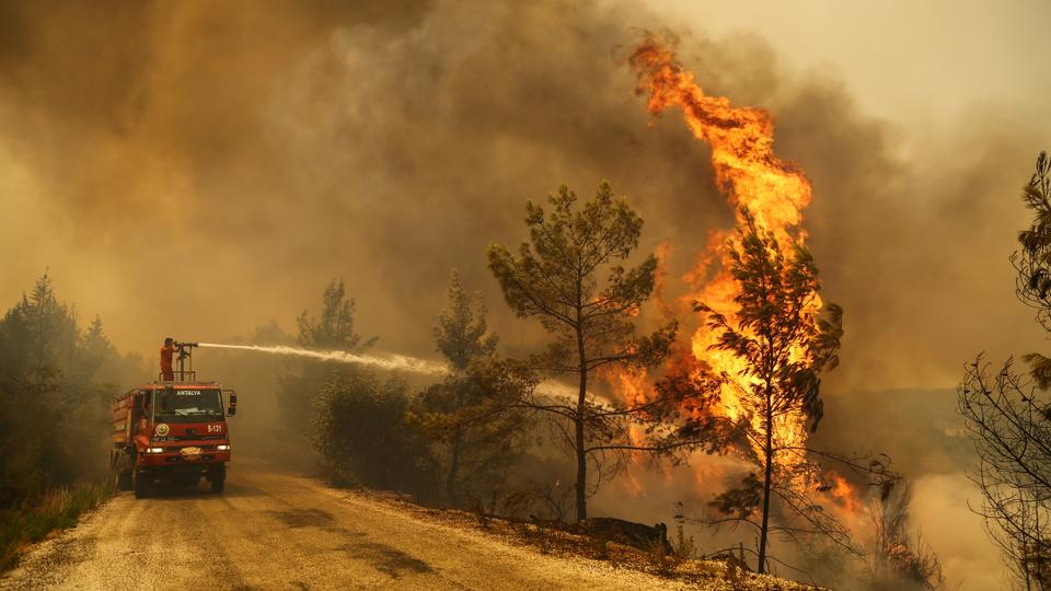 Turkey Battles Forest Fires for Third Day, Launches Investigation