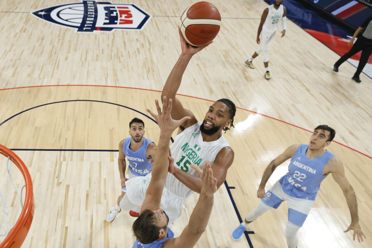 Nigeria's D'tigers Outclass Argentina 94-71 In Exhibition Game