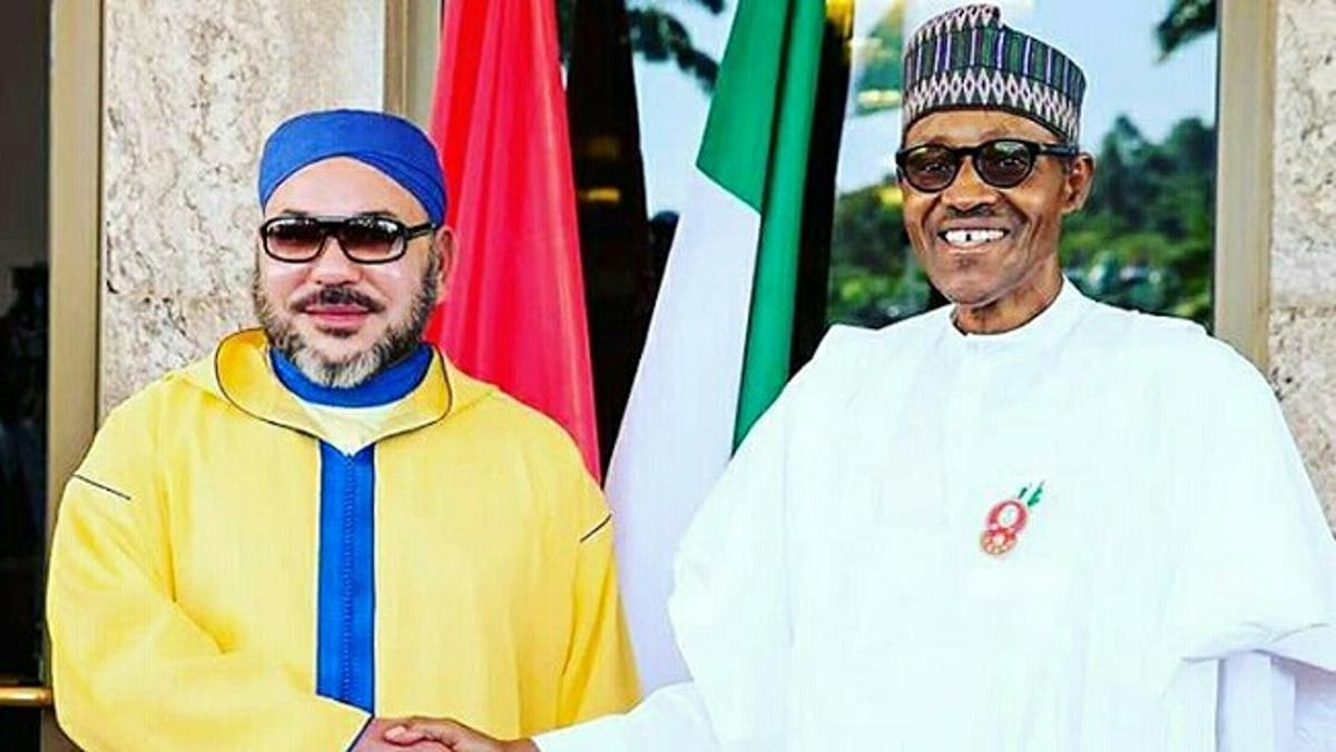 President Buhari Felicitates with Moroccan King on His 22nd Anniversary