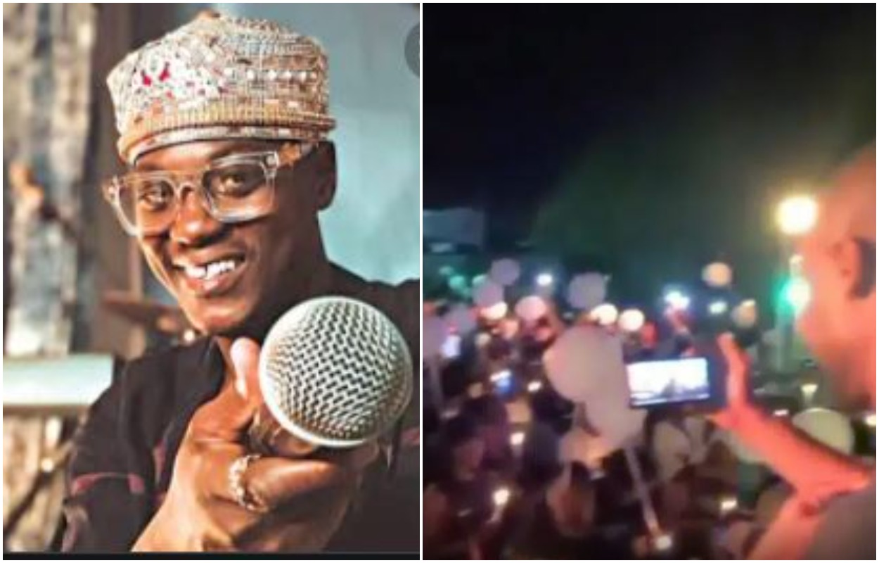 Colleagues, Fans Hold Candle Light Moment for Late Sound Sultan