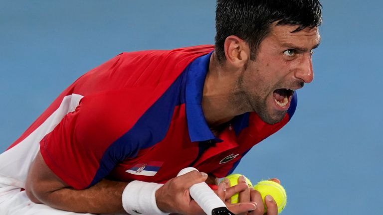 Novak Djokovic Ousted from Tokyo 2020 Games in Semifinal Stage