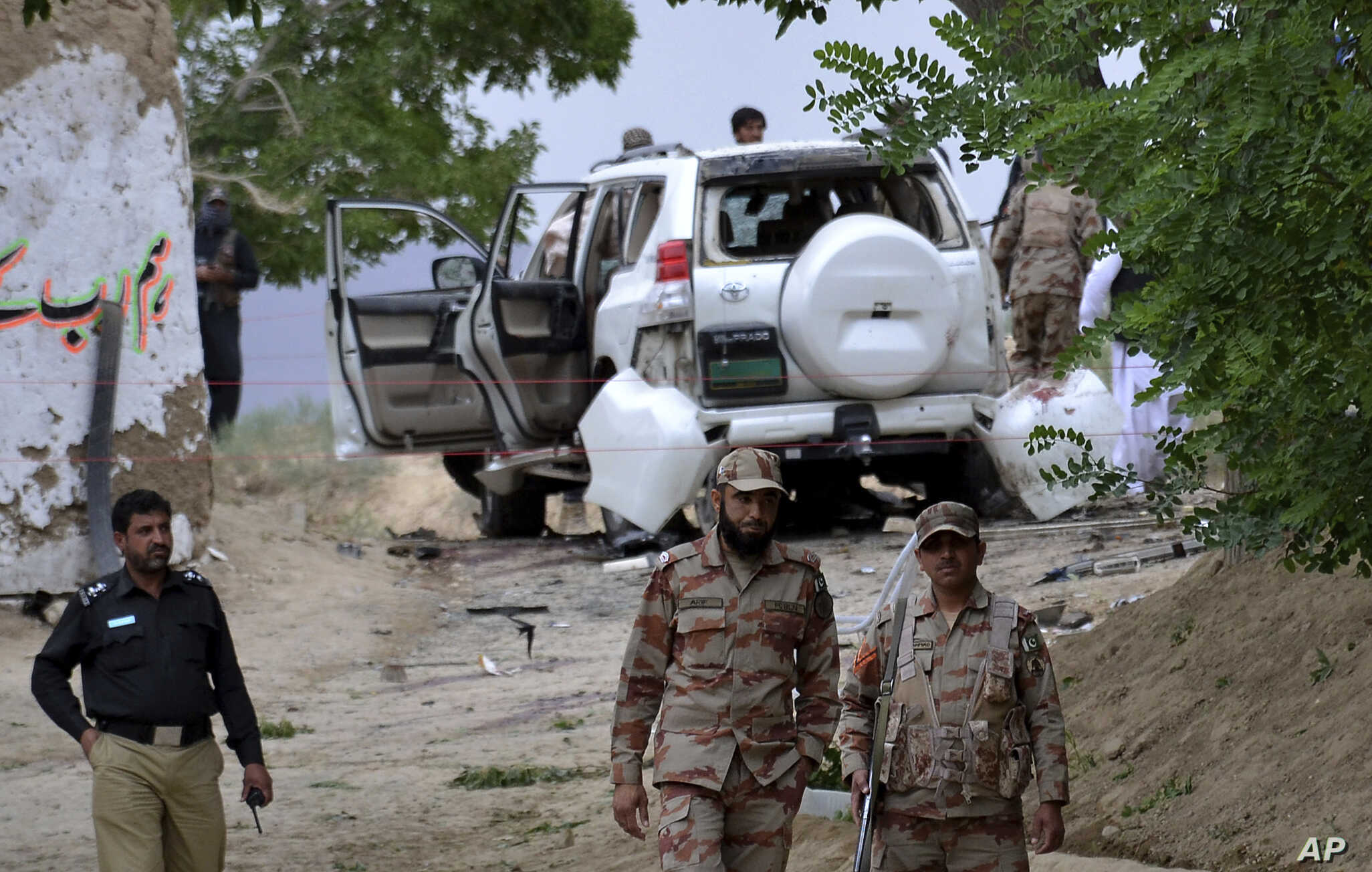 Several Soldiers Killed in Southwestern Pakistan Suicide Bombing