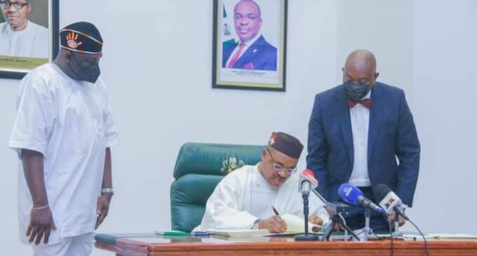 Akwa Ibom Governor Signs the Anti-Grazing Bill into Law