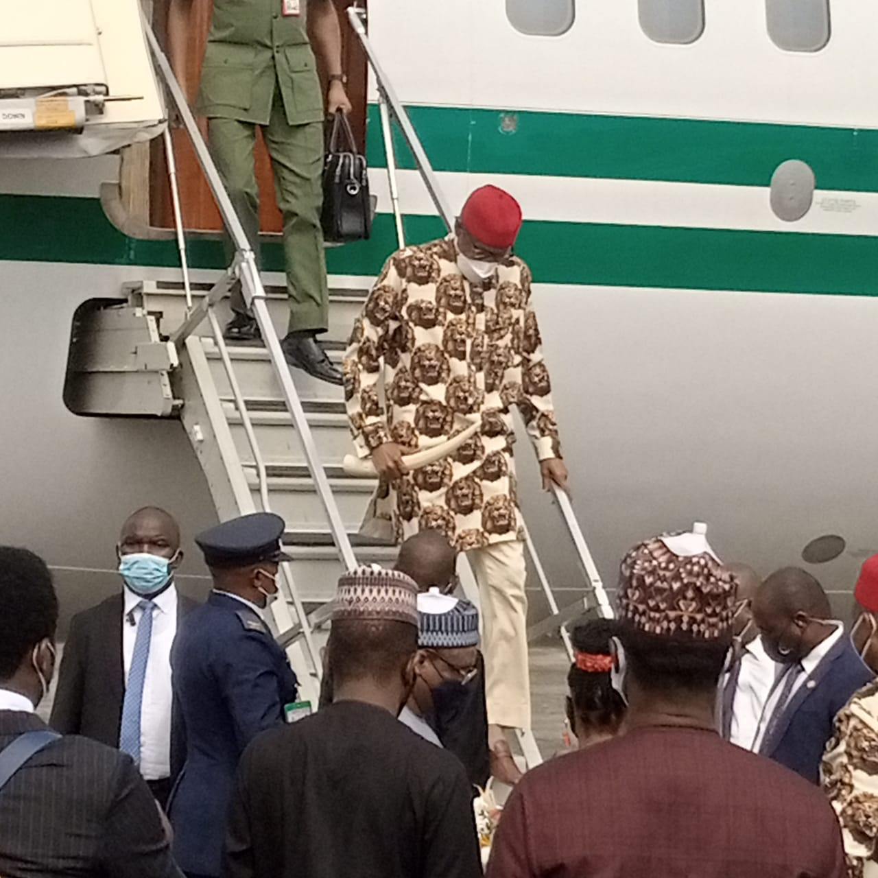 Buhari Arrives Imo for Commissioning of Projects