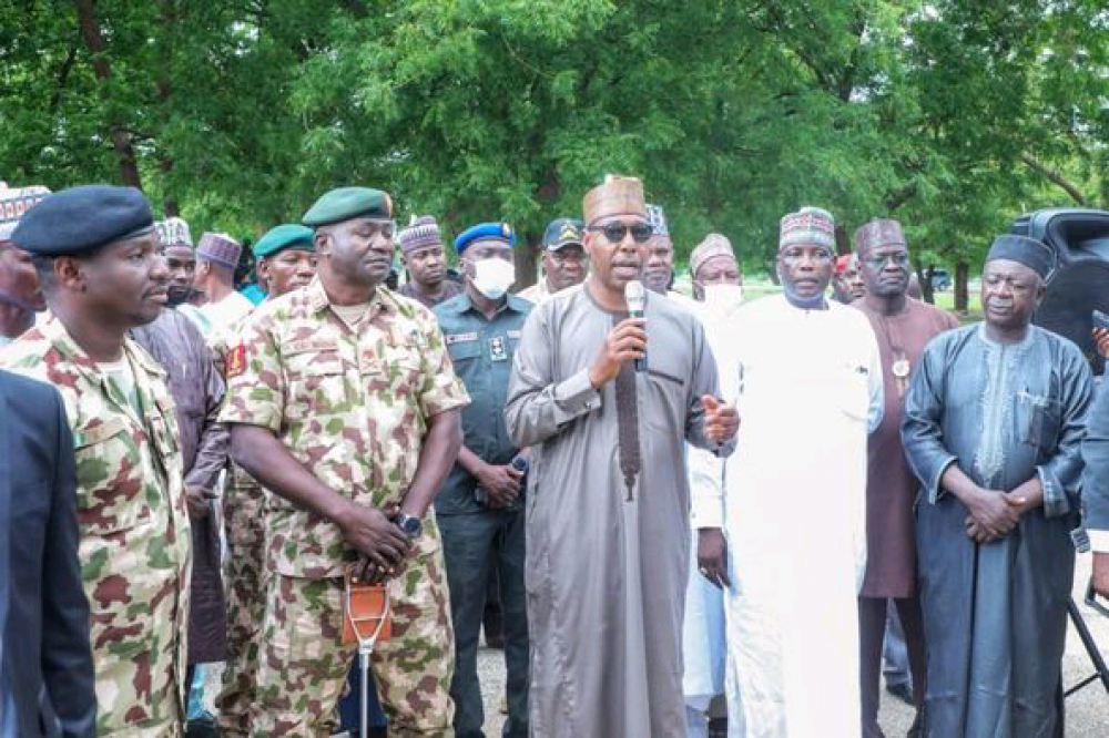 Zulum Condemn Recruitment Process Into the Nigeria Army, Police, Others