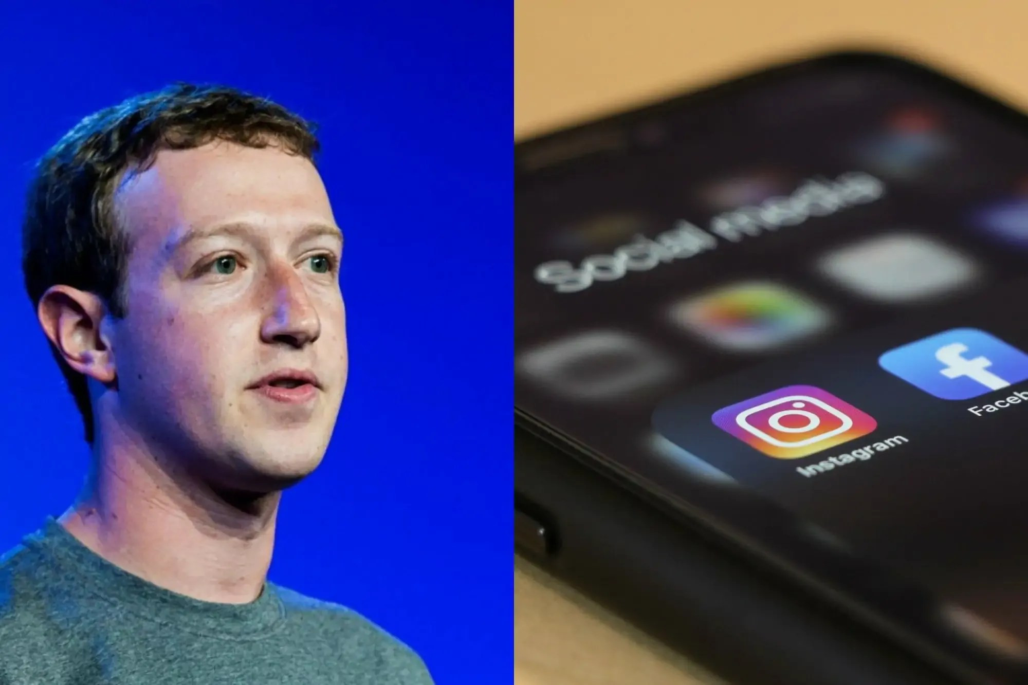 Zuckerberg Loses Almost £7b as Facebook, WhatsApp, Instagram Went Off for Hours